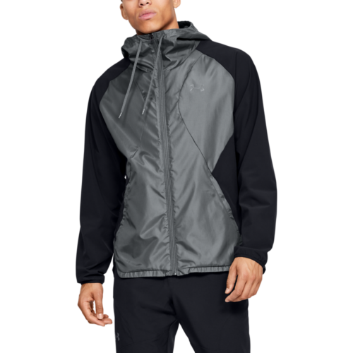 Stretch Woven Full-Zip Jacket