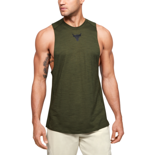 Project Rock Charged Cotton Tank