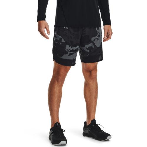 UA Train Stretch Camo Shorts