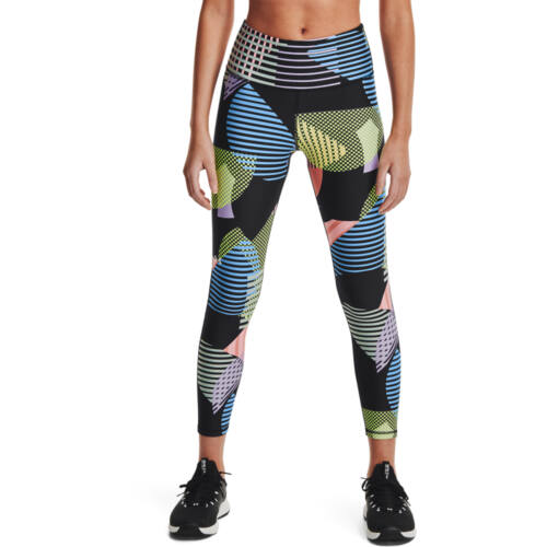 HeatGear Armour GEO Print 7/8 Leggings No-Slip
